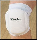 Mueller - Volleyball Knee Pads Wit P--2 One S.