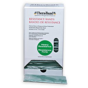 Thera-Band - Oefenband Thera-band Dispenser 30 x 1,50m  groen