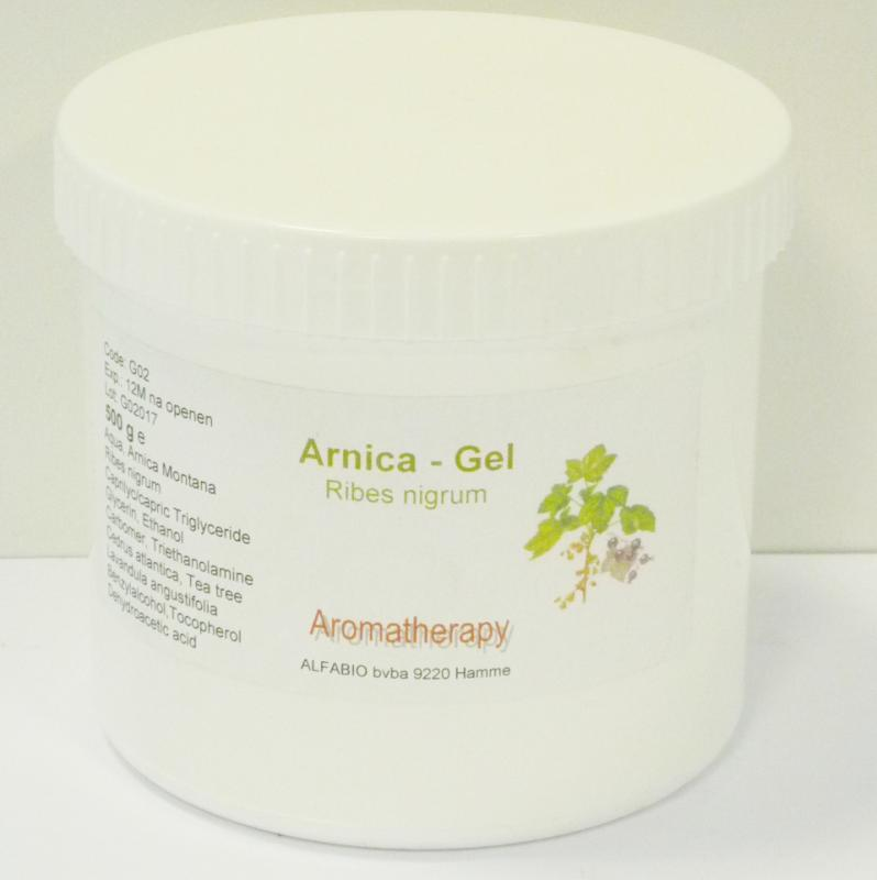 ALLproducts arnica gel 500 ml