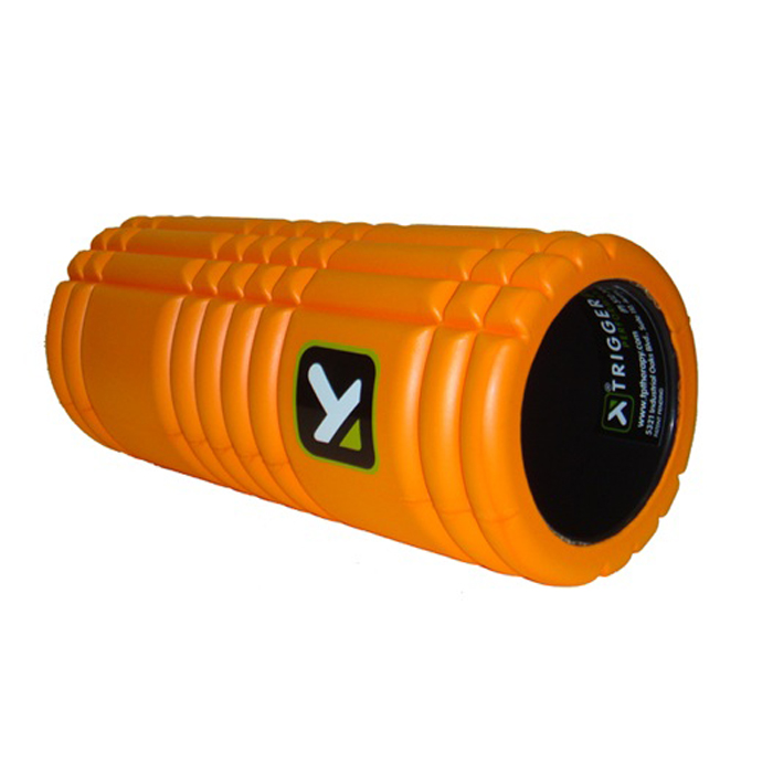 The Grid / Triggerpoint - The Grid Foam Roller - oranje - 33 x 12,7cm