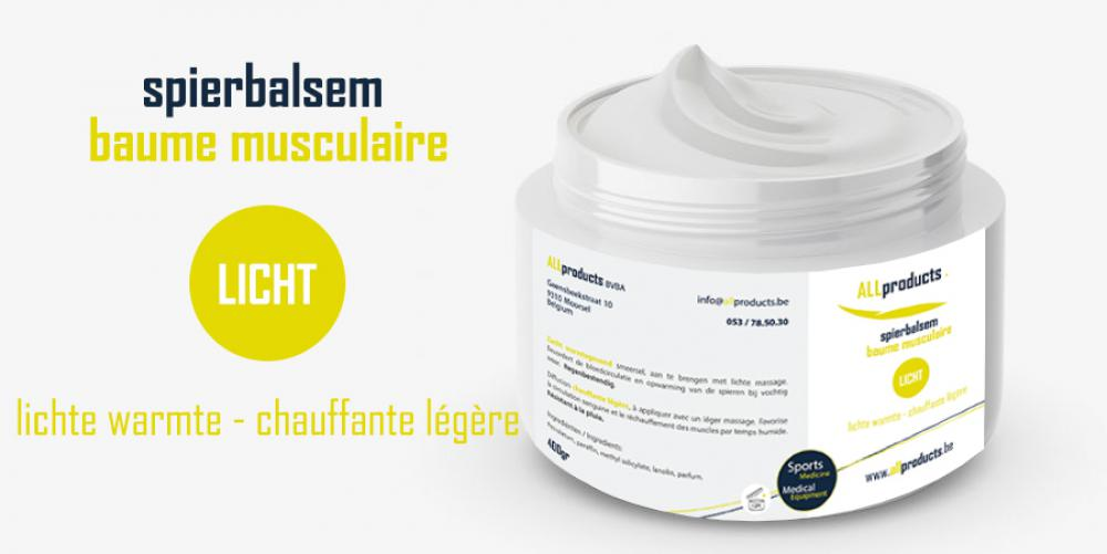 All Products - All Products – spierbalsem  - lichte warmte