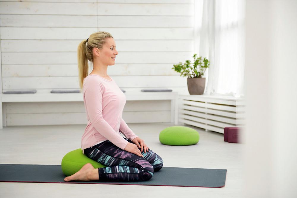 ALLproducts Sissel - Yoga Relax Cushion - fris groen